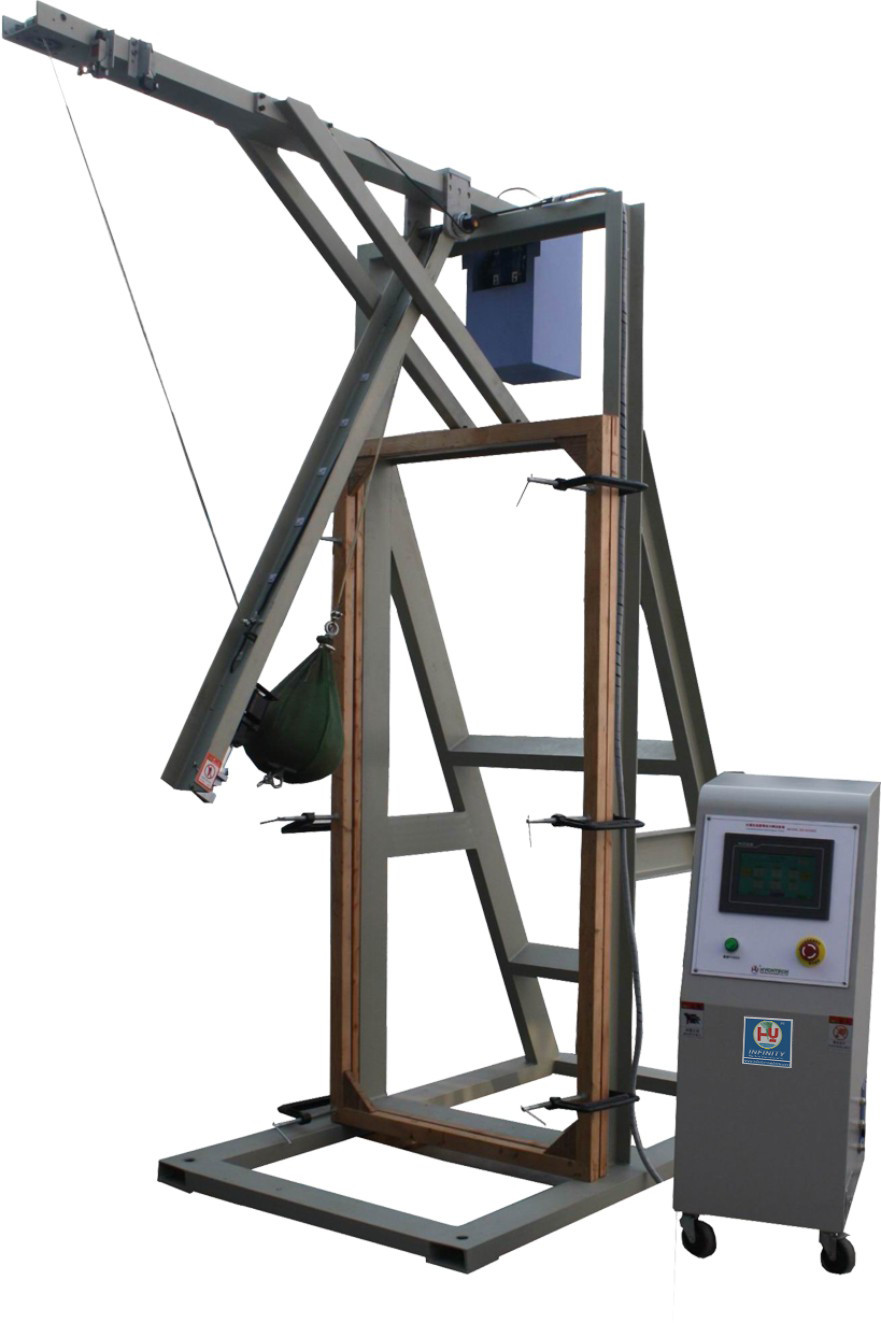 GB / T9962-1999 Shot - Bag Impact Testing Machine For Laminated Glass